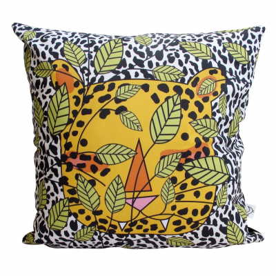 BIG 5 LEOPARD CUSHION