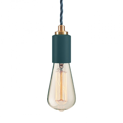 STATEMENT CEILING PENDANT TEAL