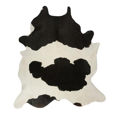 BLACK AND WHITE DUTCH NGUNI COWHIDE RUG