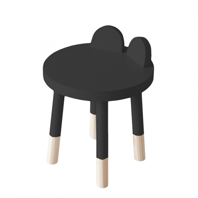 BLACK BEAR STOOL