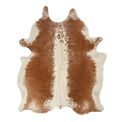 BROWN AND WHITE MEDIUM SALT AND PEPPER NGUNI COWHIDE RUG