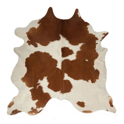 BROWN AND WHITE SPECIAL NGUNI COWHIDE RUG