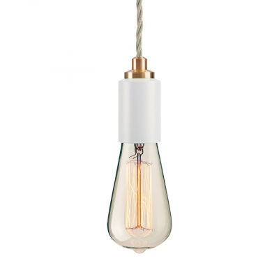 STATEMENT CEILING PENDANT  MATT WHITE
