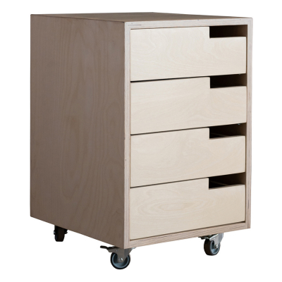CUBE ROLLING DRAWER UNIT
