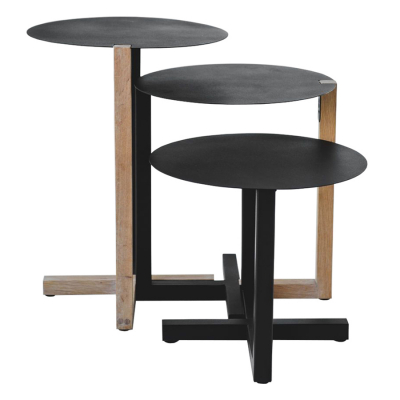 DISC NESTING SIDE TABLES