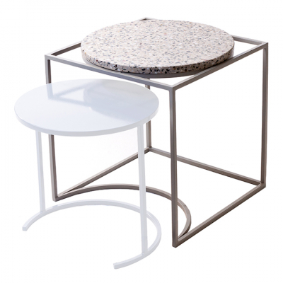 FLOSS SIDE TABLE WHITE