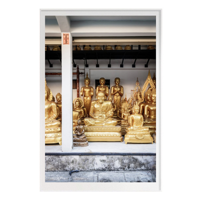 GOLD BUDDHA ONE FILM ART PRINT