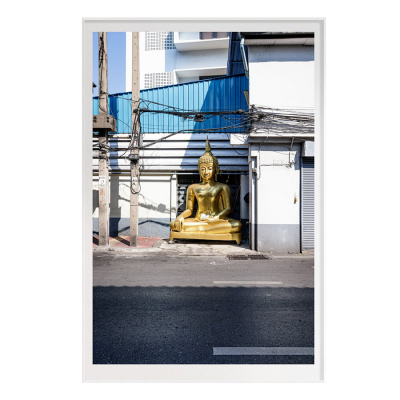 GOLD BUDDHA TWO FILM ART PRINT