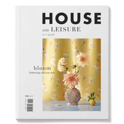 HOUSE AND LEISURE VOLUME TWO BLOOM ISSUE