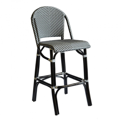 HARPER BISTRO BAR STOOL IN BLACK