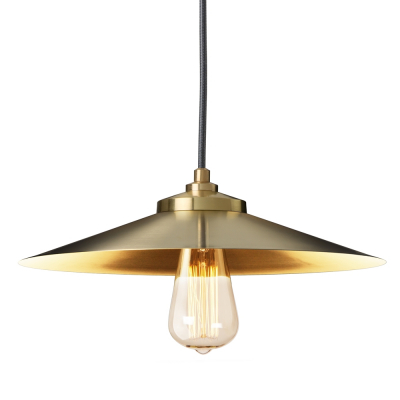 EXPOSED SHADE GOLD EMPIRE PENDANT