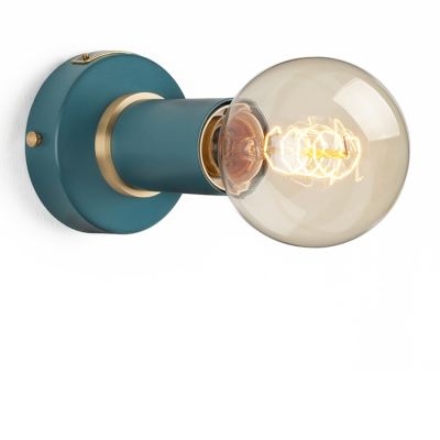 SIMPLE SCONCE HARBOUR TEAL