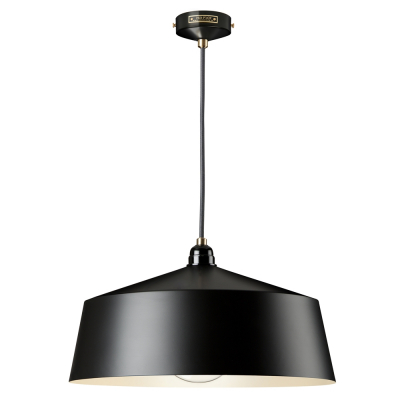 TALL SHADE BLACK EMPIRE PENDANT