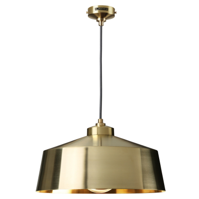 TALL SHADE GOLD EMPIRE PENDANT