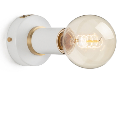 SIMPLE SCONCE WHITE