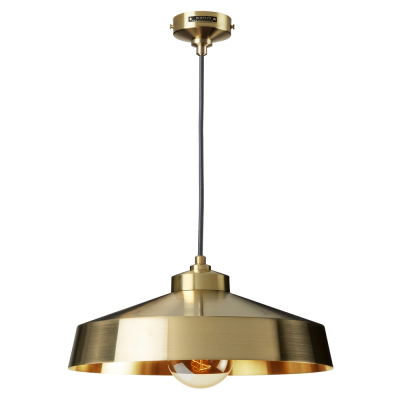 MEDIUM SHADE GOLD EMPIRE PENDANT