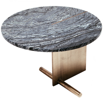DARK OR WHITE MARBLE TOP COFFEE TABLE