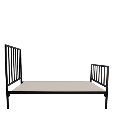 DARCY STEEL BED BLACK