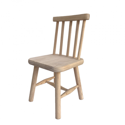 VINTAGE KIDS CHAIR PINE