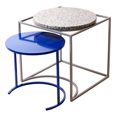 FLOSS SIDE TABLE ROYAL BLUE