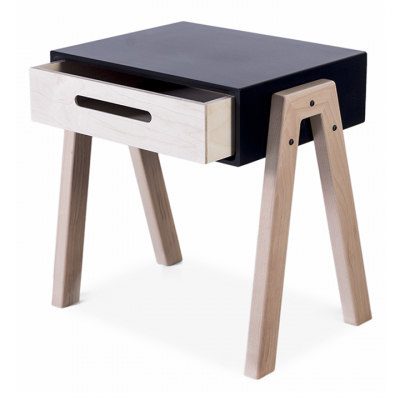 SLANT BEDSIDE TABLE