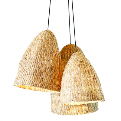 BOLAH WEAVED LAMPSHADE