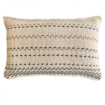 LINES COTTON TWINE CUSHION