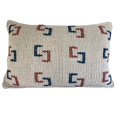 LINKS COTTON TWINE CUSHION