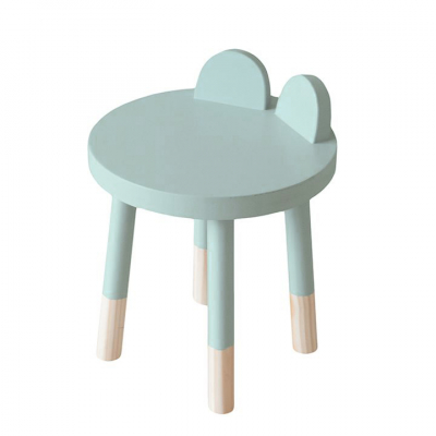 MINT BEAR STOOL