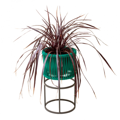 WOVEN ROPE PLANTER MEDIUM