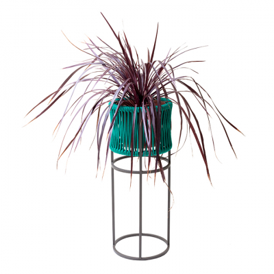 WOVEN ROPE PLANTER TALL