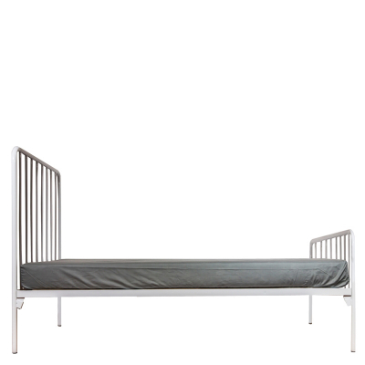MIA WHITE ALL SIZES STEEL BED