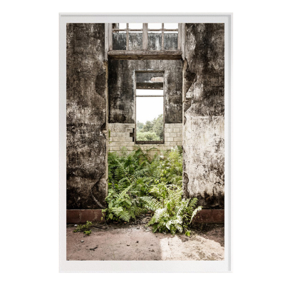 ABANDONED PRINCIPE FILM ART PRINT