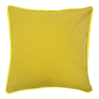 COLOUR POP PILLOW GOLD AND LEMON CUSHION