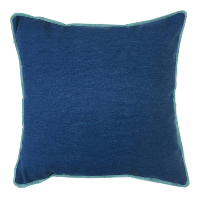 COLOUR POP PILLOW PETROL AND TEAL CUSHION