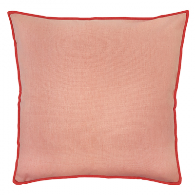 COLOUR POP PILLOW SHELL AND RED