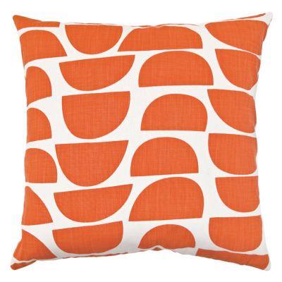 BOWLS PERSIMMON SQUARE CUSHION COVER