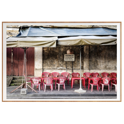 VIETNAM SIDEWALK CAFE FILM ART PRINT