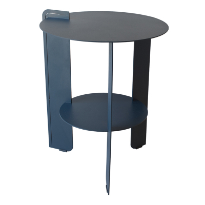 BELLAIR CHARCOAL PATIO SIDE TABLE