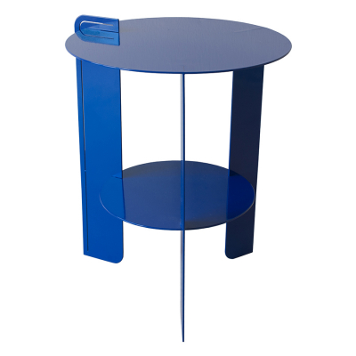 BELLAIR BLUE SIDE TABLE