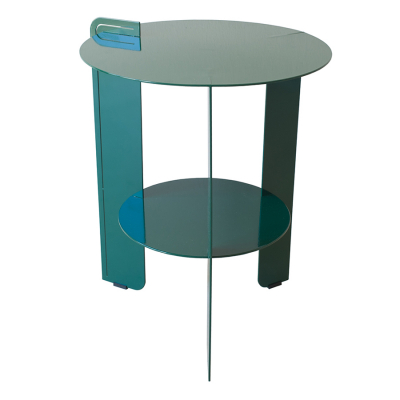 BELLAIR GREEN PATIO SIDE TABLE