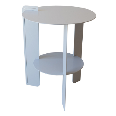 BELLAIR COOL GREY PATIO SIDE TABLE