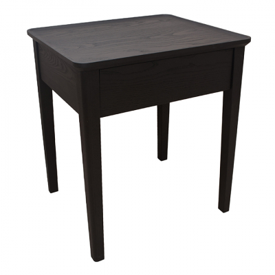 NINA BEDSIDE TABLE BLACK ASH