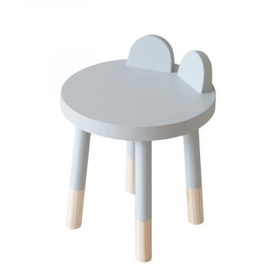 GREY BEAR STOOL