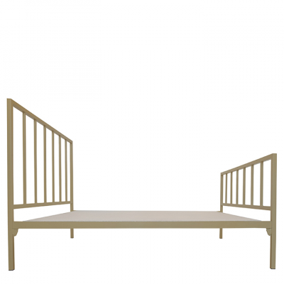 DARCY STEEL BED GOLD