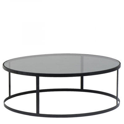 DARK DRUM COFFEE TABLE