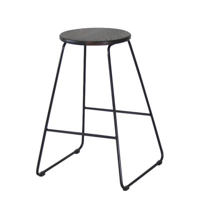 BLACK MELBOURNE BAR AND KITCHEN STOOL