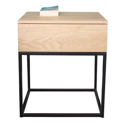 PUSH BEDSIDE TABLE