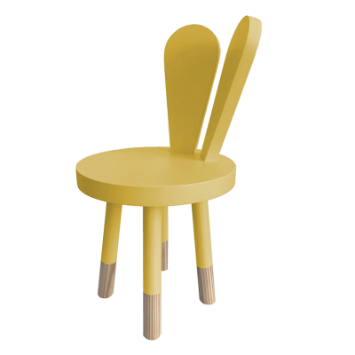 MUSTARD BUNNY CHAIR