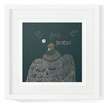 BEING WITH YOU ART PRINT